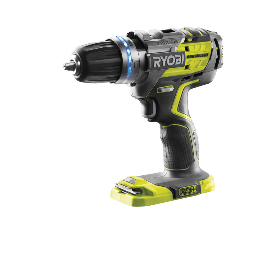 one power tools ryobi one 18v brushless percussion drill r18pdbl. Black Bedroom Furniture Sets. Home Design Ideas