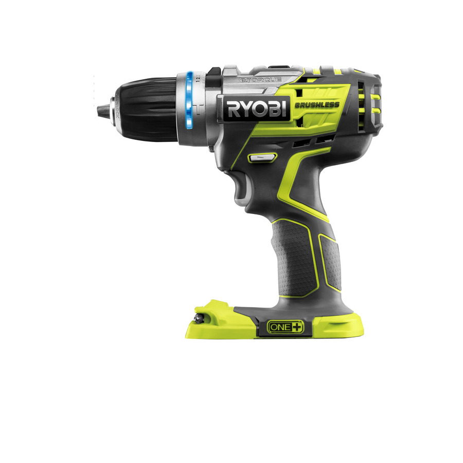 one power tools ryobi one 18v brushless percussion. Black Bedroom Furniture Sets. Home Design Ideas