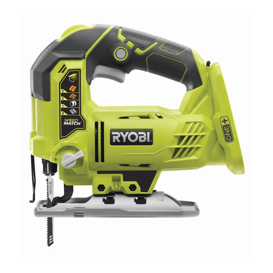 jigsaws ryobi one 18v cordless jigsaw with laser g4 r18js 0. Black Bedroom Furniture Sets. Home Design Ideas