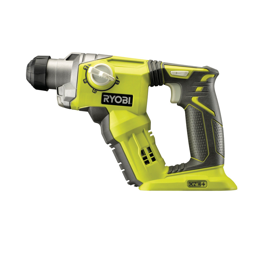 one power tools ryobi one 18v cordless sds pneumatic. Black Bedroom Furniture Sets. Home Design Ideas