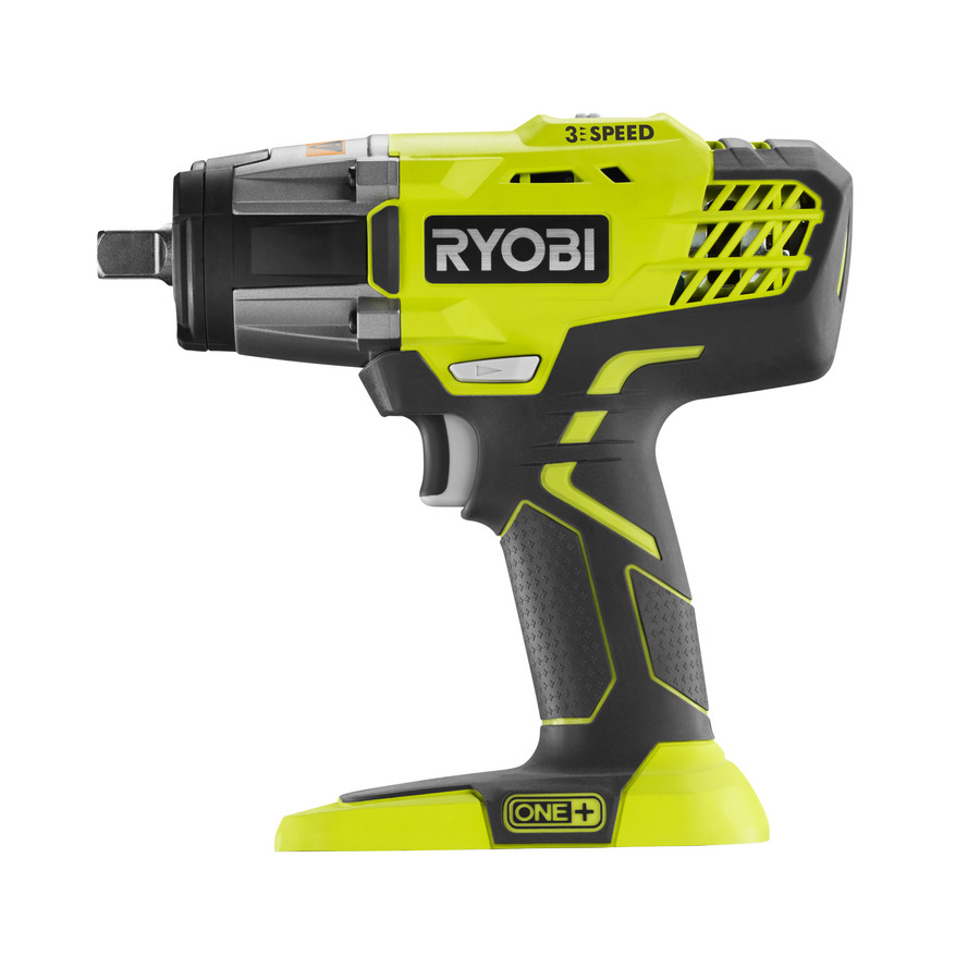 one power tools ryobi one cordless 3 speed impact wrench r18iw3. Black Bedroom Furniture Sets. Home Design Ideas