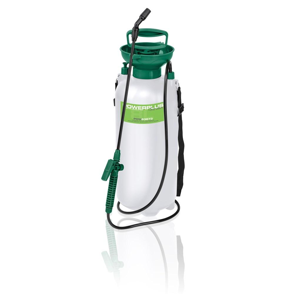 garden sprayers powerplus pressure sprayer 8l pow63873. Black Bedroom Furniture Sets. Home Design Ideas