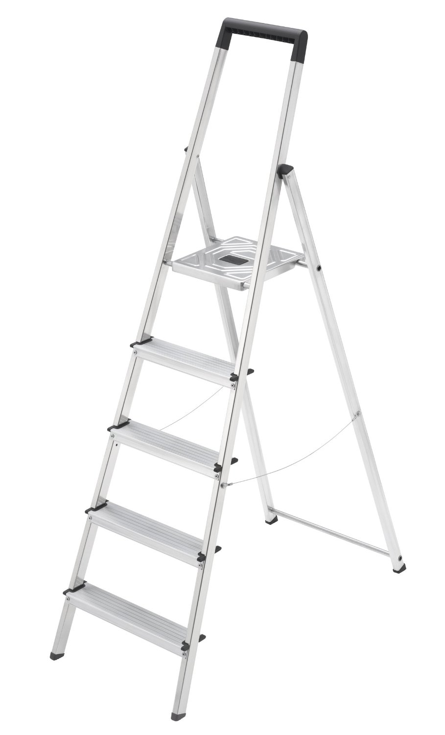 Step Ladders And Step Stools Hailo L25 Thin Ladder 5 Steps