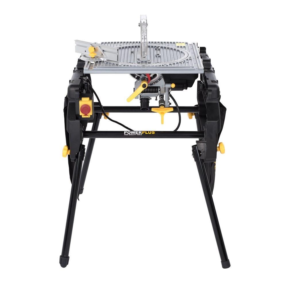 Super Sale Powerplus Flipover Mitre Table Saw 2000w 254mm Powx07587