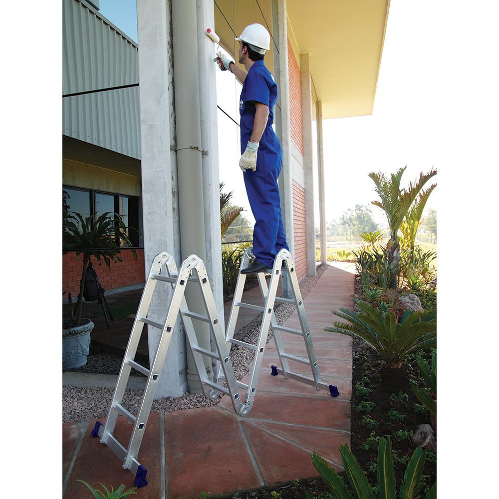 Super Sale Multi Purpose Aluminium Ladder 4x4 Steps Am0116d