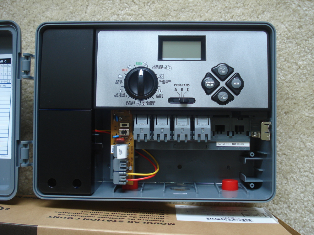 Irrigation Timers   Toro Irrigation Controller Mtc212 2 To