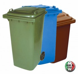 GENERAL 240L BIN MADE IN ITALY