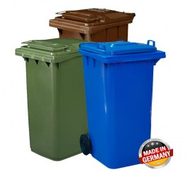 GENERAL ESE RECYCLING BIN (DUSTBIN) 240L ST240LBL