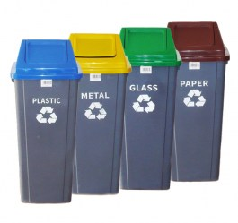 GENERAL PLASTIC DUSTBIN 90L
