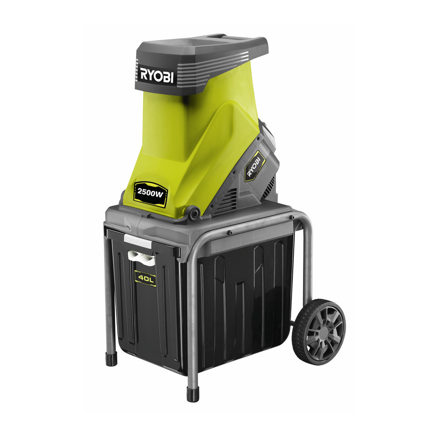 garden shredders ryobi electric impact garden shredder. Black Bedroom Furniture Sets. Home Design Ideas