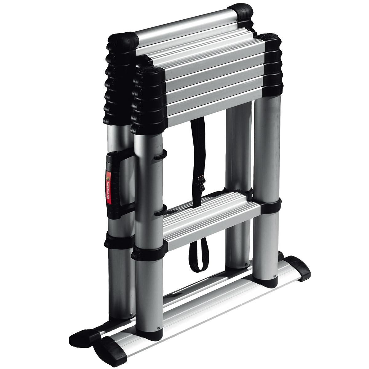 Telesteps Telescoping Ladder : Telescopic ladders telesteps combi aluminium